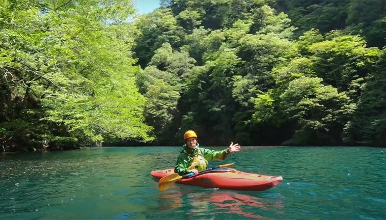 はじめてのカヤック体験〈穏やかな秘境の渓谷からカヤックをはじめてみよう〉-画像_07