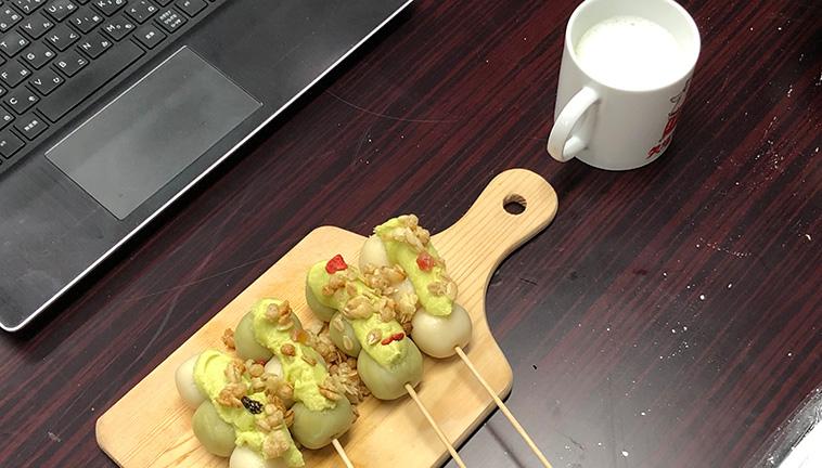 【オンライン体験】和菓子デザイナーと作る可愛い抹茶のお団子-画像_08